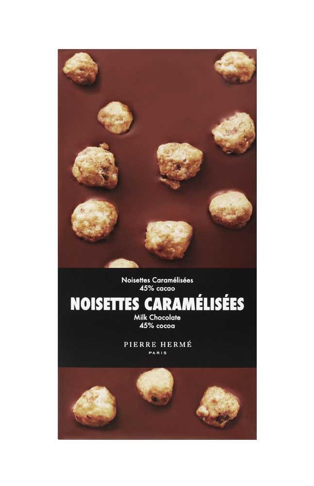 Tablette Noisettes Caramélisées Chocolat au lait